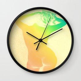 Carefree Summer Wall Clock