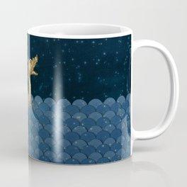Sea Monster & Stars Night Sky Coffee Mug