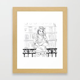 For you are only one thing among many. Framed Art Print