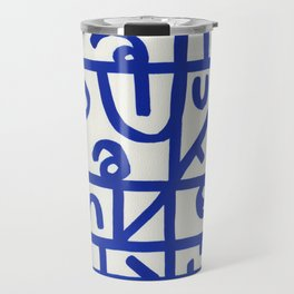 Mysterious Writing Travel Mug