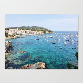 Costa Brava Spain Canvas Print
