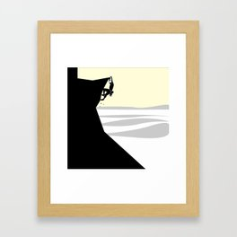 Climber Framed Art Print