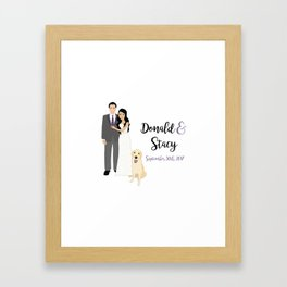DK SY Guestbook Framed Art Print