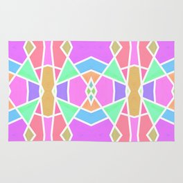 SWEET RETRO GEOMETRY Rug