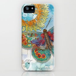 Sunny Dream Butterfly iPhone Case
