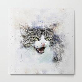 Meow Meow Metal Print