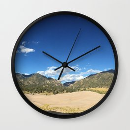 Great Dunes Panoramic North-East-South Wall Clock