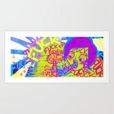 FUCK ART Art Print