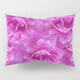 Purple Peony Flower Bouquet #1 #floral #decor #art #society6 Pillow Sham