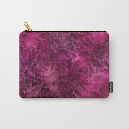 Frozen Leaves 28 Carry-All Pouch