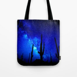 The Milky Way Blue Tote Bag