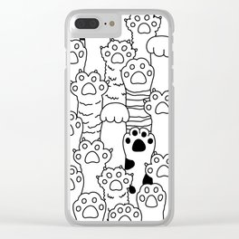 Paw Paw Clear iPhone Case