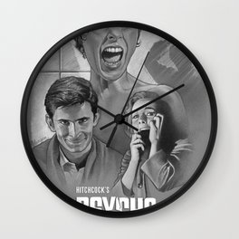 Psycho (1960) Wall Clock