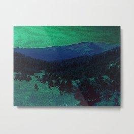 The Sleeping Mountains Metal Print