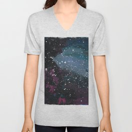 space, far out Unisex V-Neck
