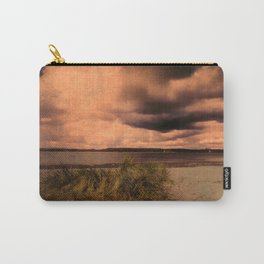 Menacing clouds over the sea Carry-All Pouch