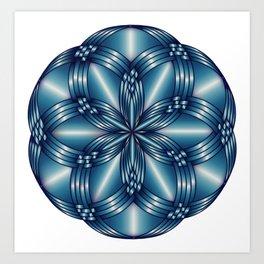 Mandala sketch 0028 Art Print