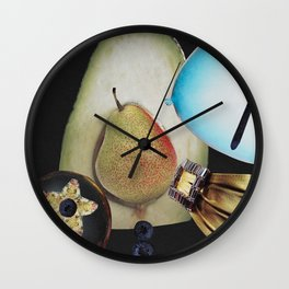 Juicy Fun Propelling Round and Round Wall Clock