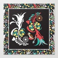 Kookaburra Camouflage Canvas Print