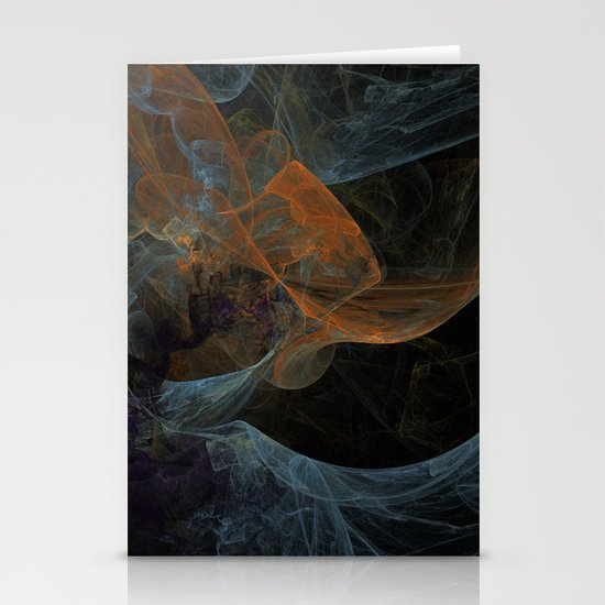 Color Abstraction Stationery Cards