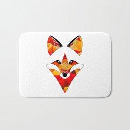 Fire Fox Bath Mat