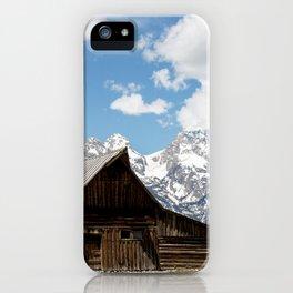 Mormon Row 2-Thomas Alma & Lucille Moulton Homestead iPhone Case
