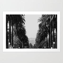 LA Noir Art Print