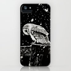 Snowfall at Night (Owl) iPhone (5, 5s) Slim Case
