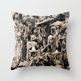 Party of Respect Throw Pillow