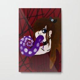 Anxiety Metal Print
