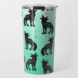 Grey Coyote Travel Mug