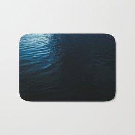 Lake Surface at Dusk Bath Mat