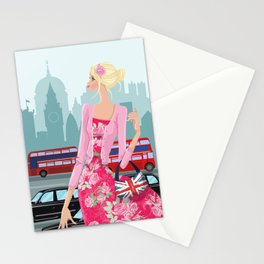 London Rose Stationery Cards