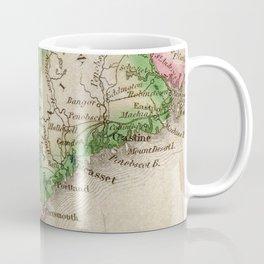Vintage Map of New England (1822) Coffee Mug