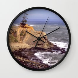 Cape Arago 1a Wall Clock