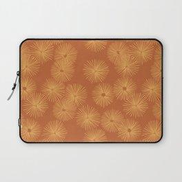 Orange Nasturtium Seamless Patten Laptop Sleeve