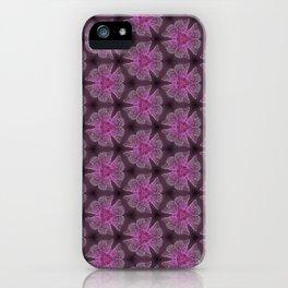 Glowy Butterflies–Pink & Magenta Palette iPhone Case