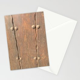 Wood - Door Stationery Cards