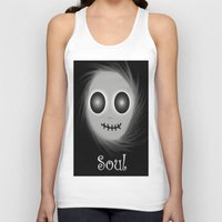 soul Tank Tops featuring Soul by LCMedia