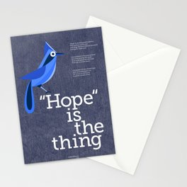 Hope is the Thing (Blue) Stationery Cards