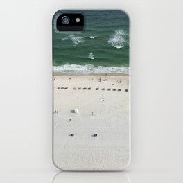 Beach Below iPhone Case