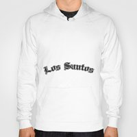 gta Hoodies featuring GTA Los santos city by Komrod