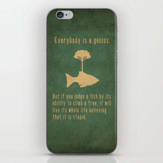 Einstein iPhone & iPod Skin