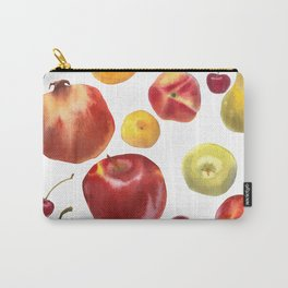 Watercolor frut Carry-All Pouch