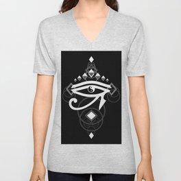 Eye Of Horus (Yin Yang Crest) Unisex V-Neck