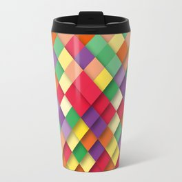 autumn rectangles Travel Mug