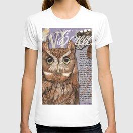 The Screech Owl Journal T-shirt