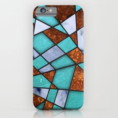#477 Marble Shards & Copper Slim Case iPhone 6s