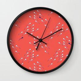 Use Condom Wall Clock