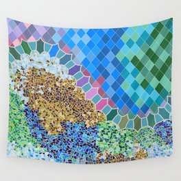INSPIRED BY GAUDI Wall Tapestry